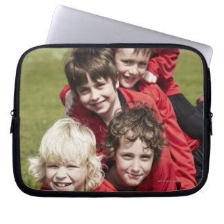 Sports, Children, Football Laptop Sleeve