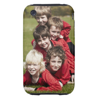 Sports, Children, Football Tough iPhone 3 Covers