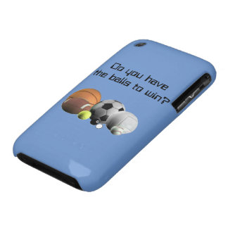 Sports Do you have the Balls to win? iPhone 3 Cases