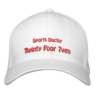 Sports Doctor Baseball Cap