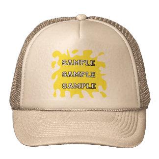 Sports Fan Splatter Mesh Hats