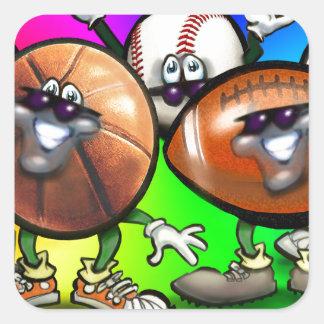 Sports Fan Stickers