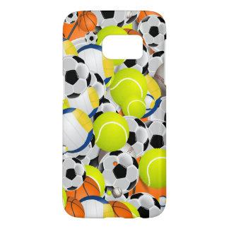 Sports Fanatic Digital Art Phone Case