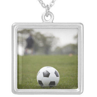 Sports, Football 2 Silver Plated Necklace