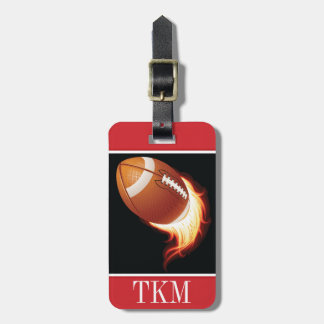 Sports - Football Luggage Tag