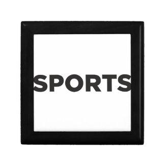Sports Jewelry Box