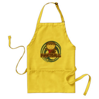 Sports Girl - Football Tshirts and Gifts Standard Apron