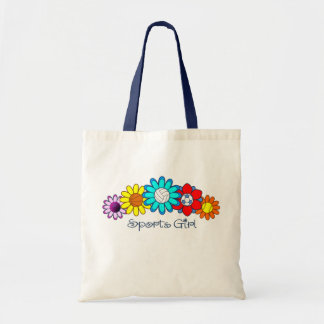 Sports Girl - Volleyball Tote Bag