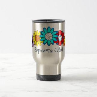 Sports Girl - Volleyball Travel Mug