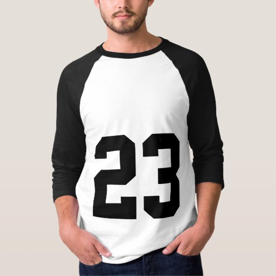 Sports jersey number 23 t shirt | Customisable
