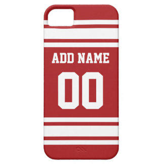 Sports Jersey with Your Name and Number iPhone 5 Case