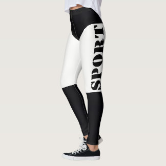 Sports leggings in a fitness club.