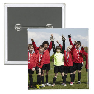 Sports, Lifestyle, Football 2 15 Cm Square Badge
