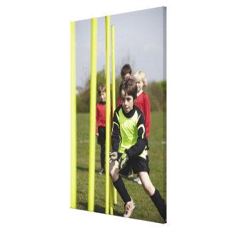 Sports Lifestyle Football 2 Canvas Print