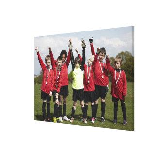 Sports Lifestyle Football 3 Canvas Print