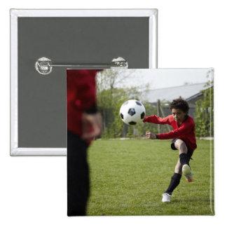 Sports, Lifestyle, Football 4 15 Cm Square Badge