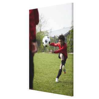 Sports Lifestyle Football 4 Gallery Wrap Canvas