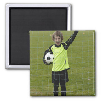 Sports, Lifestyle, Football 7 Square Magnet