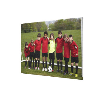 Sports Lifestyle Football 8 Stretched Canvas Prints