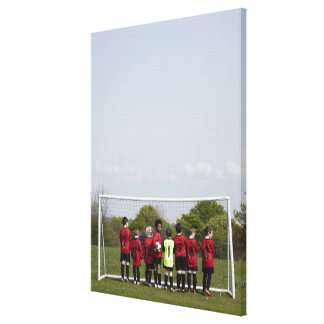 Sports Lifestyle Football Canvas Print