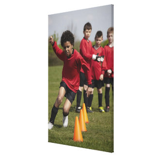 Sports Lifestyle Football Stretched Canvas Prints
