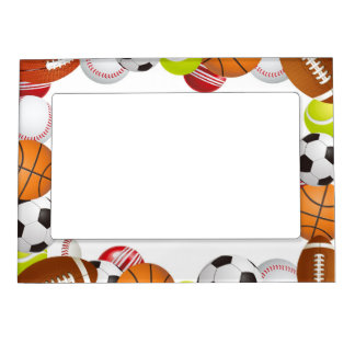 Sports Magnet Picture Frame Picture Frame Magnet