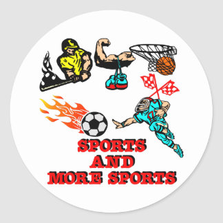 Sports More Sports Sticker
