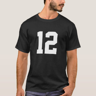 Sports number 12 T-Shirt