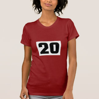 Sports number 20 shirt
