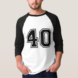 Sports number 40 shirts