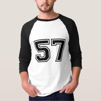 Sports number 57 tshirts