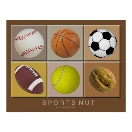 Sports Nut Poster
