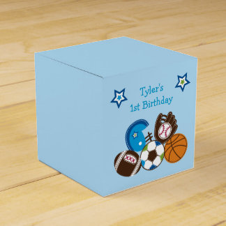 Sports Party Favor Gift Box Favour Boxes