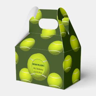 Sports Party Tennis theme Personalized favor box Wedding Favour Boxes