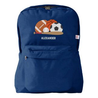 Sports Personalised Backpack
