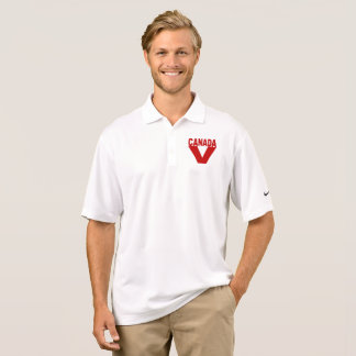 SPORTS SHIRT NIKE DRI THE FIT   CANADA VICTOIRE