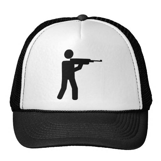 Sports shooting icon hat