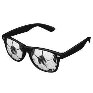 Sports Soccer Fan Retro Sunglasses