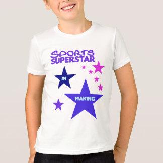 Sports Superstar shirt for kids