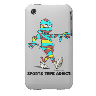 sports tape addict iPhone 3 covers