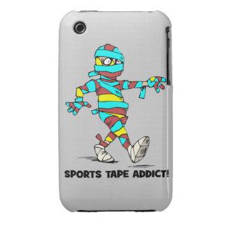 sports tape addict iPhone 3 case