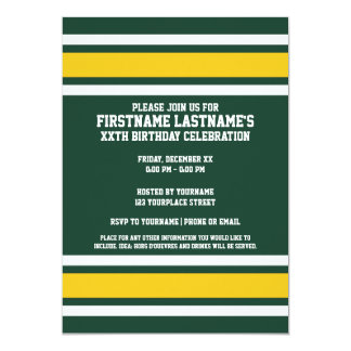 Sports Team Football Jersey Custom Name Card