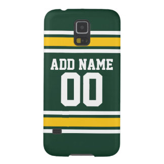 Sports Team Football Jersey Custom Name Number Galaxy S5 Covers