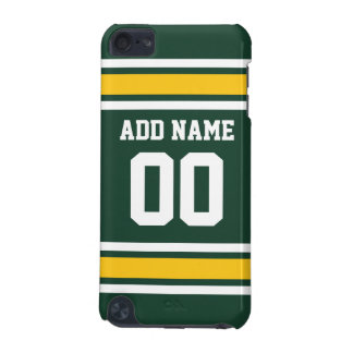 Sports Team Football Jersey Custom Name Number iPod Touch (5th Generation) Cases