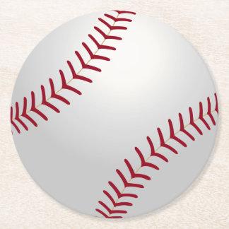 Sports Theme Baseball Coasters Round Paper Coaster