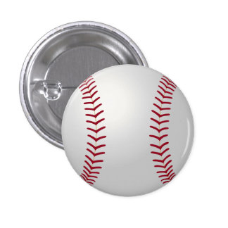 Sports Theme Baseball Pin