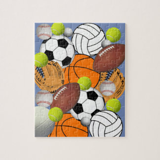 Sports Themed Jigsaw Puzzle
