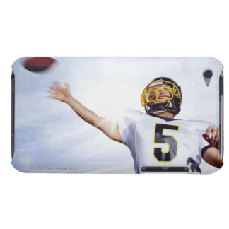 sportsman playing with rugby ball barely there iPod case