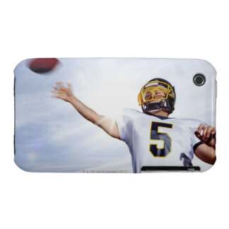 sportsman playing with rugby ball iPhone 3 covers