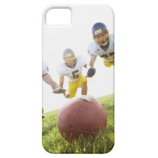 sportsmen playing with a rugby ball iPhone 5 cases